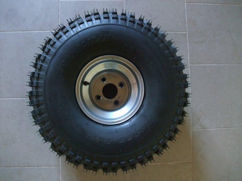 pneumatika na štvorkolku