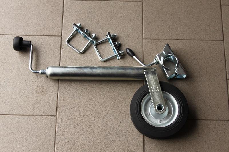 Podperné koliesko k vozíkom za štvorkolky