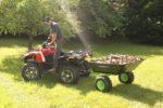 Vyklápacie vozík za štvorkolku Pracant