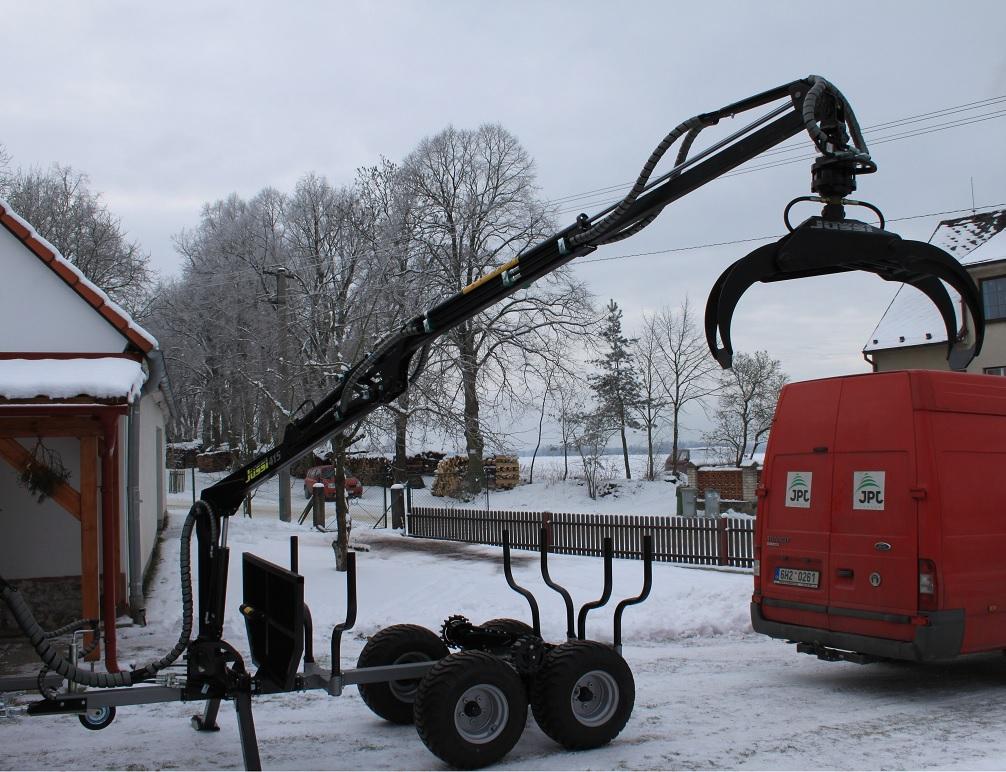 Vyvážačka pre štvorkolku Vahva Jussi 2000+