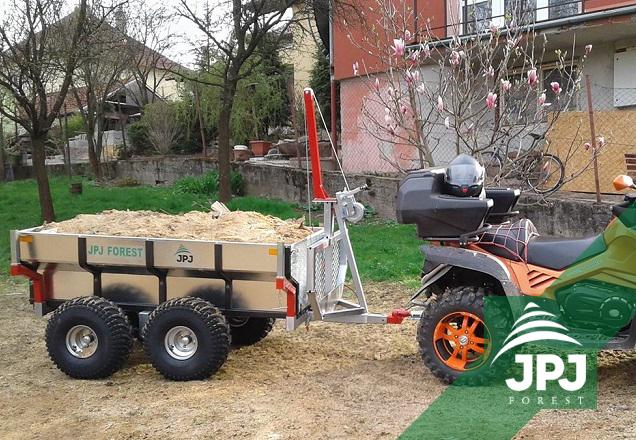Multifunkčný terénne príves Profi Robotník a pracovné ATV