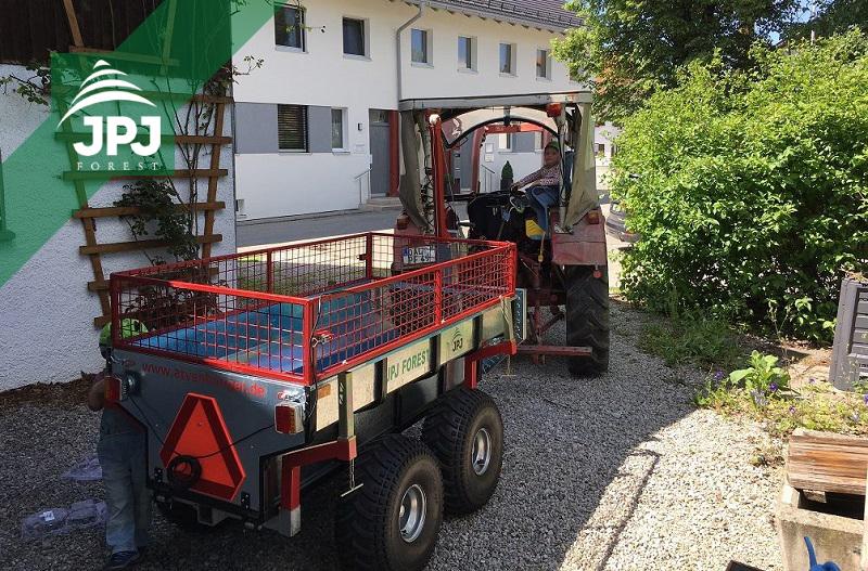 Multifunkčný vyvážečka za štvorkolku Profi Robotník a malotraktor