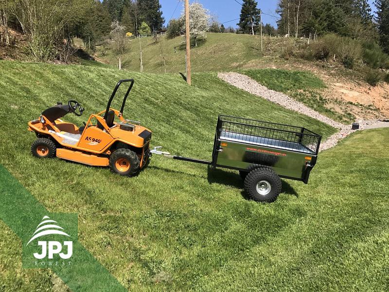 Terénny vozík Záhradník a svahová kosačka