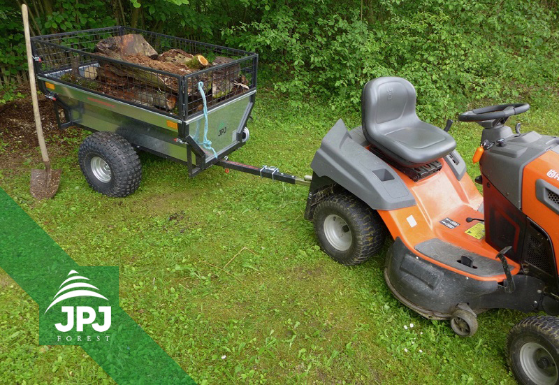 Vozík za štvorkolku Záhradník a záhradný traktor