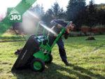 montáž pripojenie za záhradnej traktorček