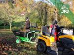 vozík Záhradkár za záhradným traktorom